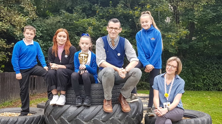 Event: BAFTA Kids Roadshow with Place2Be at Forthview Primary School, EdinburghDate: 18 September 2019Venue: Forthview Primary School, EdinburghHosts: Arielle Free and Ben Shires-