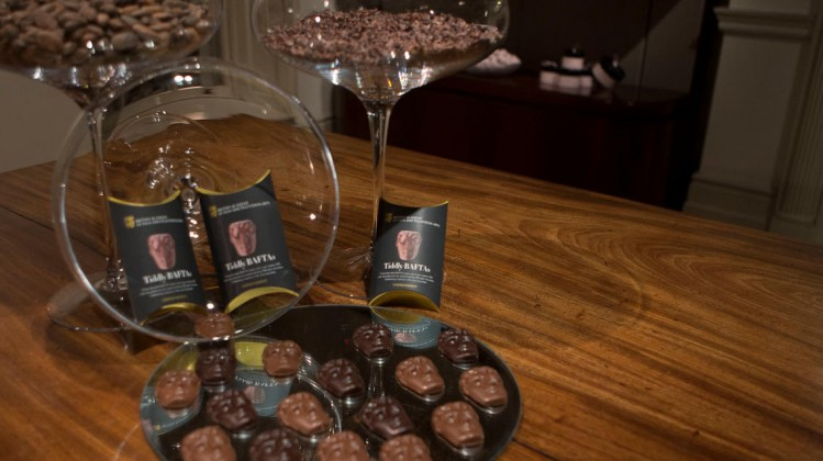Film Awards Nominees party: Hotel Chocolat Display