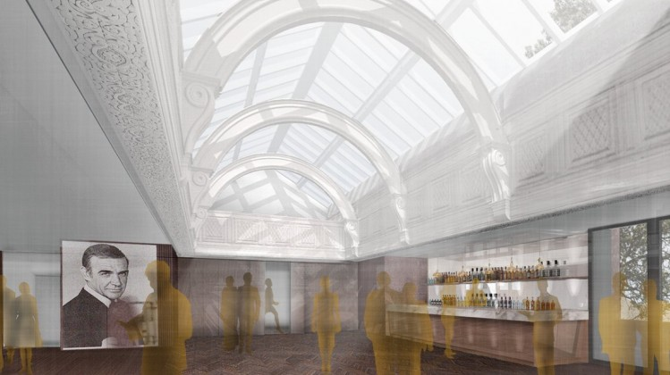 195 Piccadilly - Artist's impression of the fourth floor Members' Room