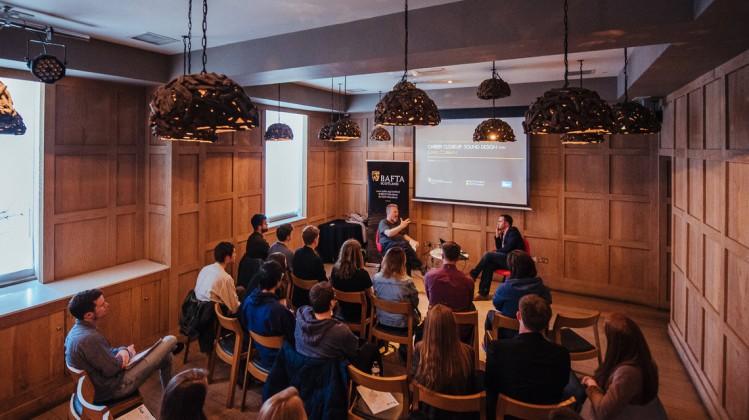 Event: Career Close-Up: Sound Design with John CobbanDate: Thursday 3 May 2017Venue: The Corinthian Club, Glasgow