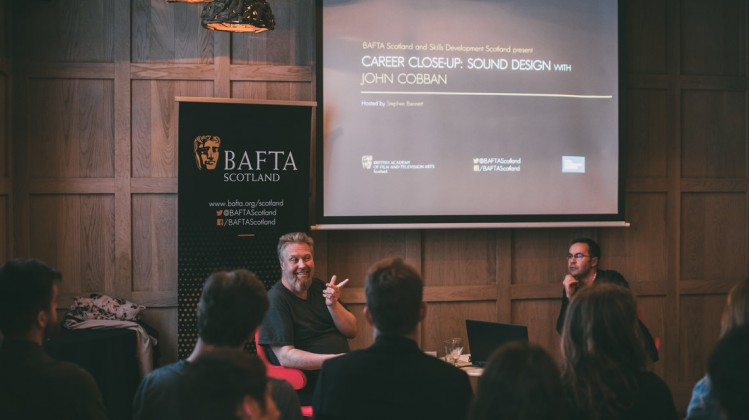 Event: Career Close-Up: Sound Design with John CobbanDate: Thursday 3 May 2017Venue: The Corinthian Club, Glasgow