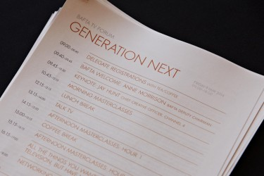 BAFTA TV Forum: Generation Next at 195 Piccadilly on 9 May 2014