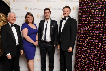 Entertainment Craft Team winners with Blake Harrison, sponsored by HotCam