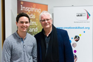Guest lecture with Neil McKay in association with Creative Skillset