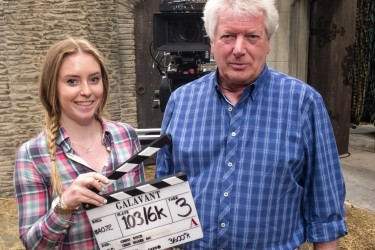 Abbie Collingwood was mentored by producer Peter Wolfes as part of BAFTA's Give Something Back campaign