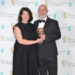 Event: EE British Academy Film AwardsDate: Sun 12th February 2017Venue: Royal Opera HouseHost: Stephen Fry-Area: PRESS ROOM