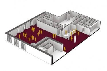 Axonometric 1st Floor