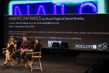 2014.10.23 - BAFTA Rocliffe New Writing Forum at the SVA Theatre in New York City.