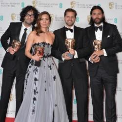 Event: EE British Academy Film AwardsDate: Sun 12th February 2017Venue: Royal Opera HouseHost: Stephen Fry-Area: PRESS ROOM