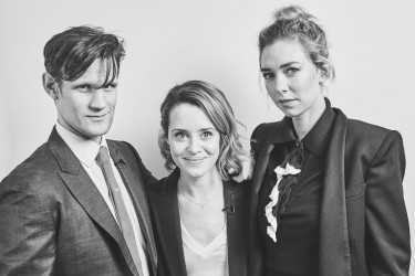 Headline: Academy Circle Q&A with the cast of The Crown Date: 20th March 2017Venue: 195 PiccadillyHosts: Edith Bowman-Category: Portraits
