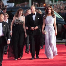 HRH the Duke and Duchess of Cambridge at the BAFTA Brits to Watch event in Los Angeles