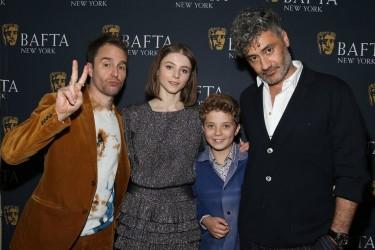 BAFTA 'Jojo Rabbit' film screening, Arrivals, New York, USA - 19 Oct 2019