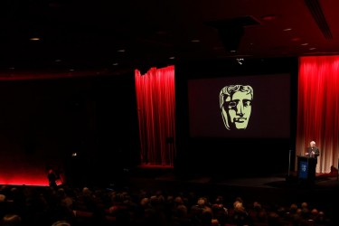 Barco projection used in The Princess Anne Theatre at BAFTA 195 Piccadilly