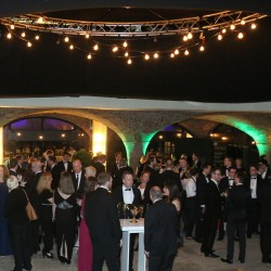 Champagne reception before the BAFTA Games Awards, sponsored by Pinewood