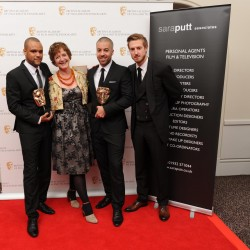 Breakthrough Talent winners, sponsored by Sara Putt Associates
