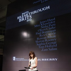 BAFTA Breakthrough Brits in partnership with Burberry.