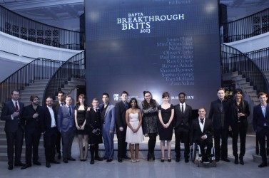 Breakthrough Brits in Association with Burberry 2013