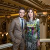 Eddie Redmayne with BAFTA's CEO Amanda Berry at the Peninsula Hong Kong