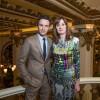 Eddie Redmayne with BAFTA's CEO Amanda Berry at the Peninsula Hong Kong